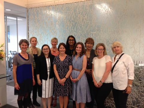 Photo of Women at WIFT NZ Reception, 12/5/16